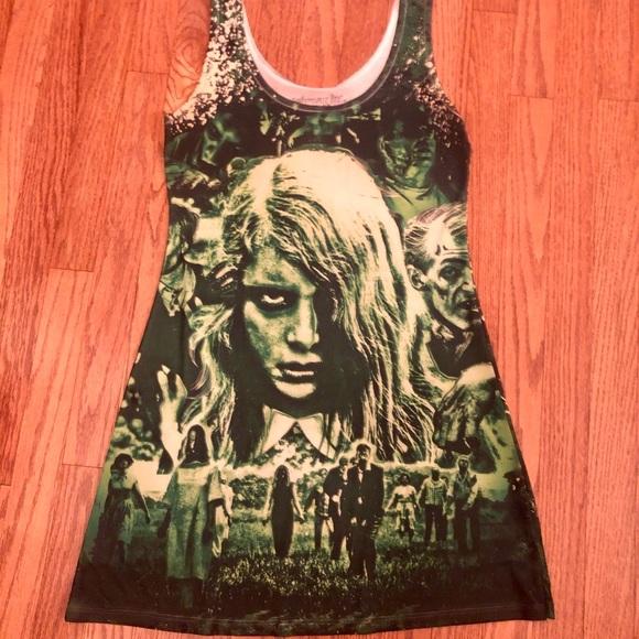 Night of The Living Dead Tank Dress